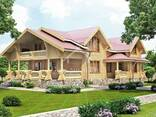 Ecological clean house from Arkhangelsk pine 250-500 sq. m - фото 1