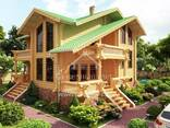 Ecological clean house from Arkhangelsk pine 250-500 sq. m - фото 2