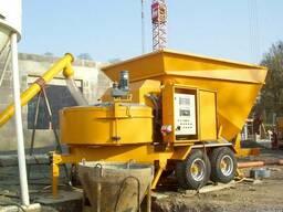 Мобильный бетонный завод Sumab B-15-1200 (15 м3/час) Швеция