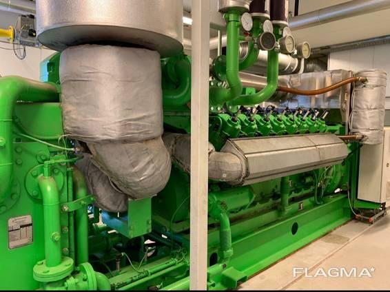 Б/У Газовый двигатель Jenbacher J 312 GS-NL, 2004 г