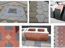 Пресс-формы для блок-машин Hess , Poyatos, Masа, Zenith.