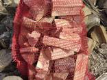 Дрова колотые дуб, граб в сетках по 10 кг - photo 2