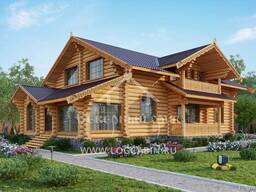 Ecological clean house from Arkhangelsk pine 250-500 sq. m - photo 6