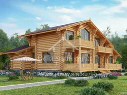 Ecological clean house from Arkhangelsk pine 250-500 sq. m - photo 7