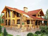 Ecological clean house from Arkhangelsk pine 250-500 sq. m - photo 4