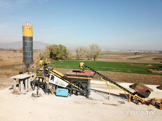 Mobile Concrete Plant Turbomıx-120
