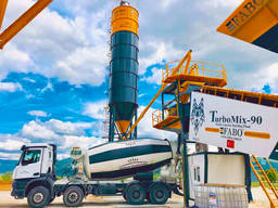 Mobile Concrete Plant Turbomıx-90