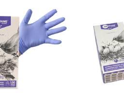 Nitril examination gloves