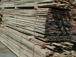 Обрезная доска 25*100 3 сорт из хвойных и лиственных пород