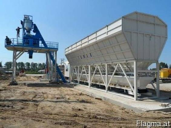 Стационарный бетонный завод SUMAB T-15 (15 м3/ч) Швеция