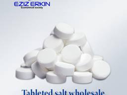 Tableted salt